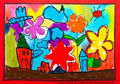 A Child's Art Piece Makes A Great Gift For Mothers